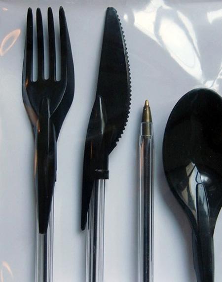Bic Pen Cutlery
