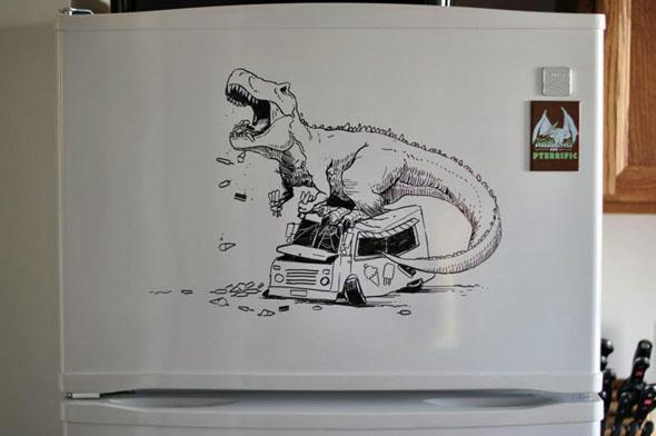 fridge-drawings-charlie-layton-freezer-fridays-13
