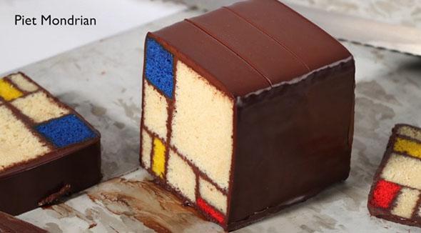 mondrian-cake
