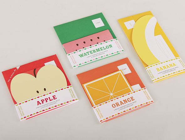 fruit-stationery