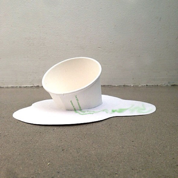 Cuppaday, A Creative Art Project That Makes Use of Empty Coffee Cups |  Foodiggity