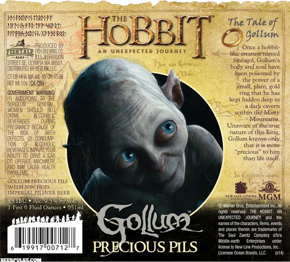 The-Hobbit-Gollum-Precious-Pils