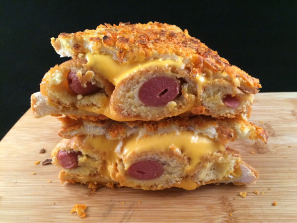 corn-dog-grilled-cheeese