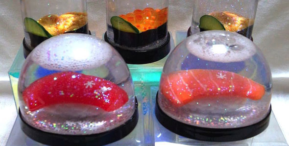 sushi2-snow-globes
