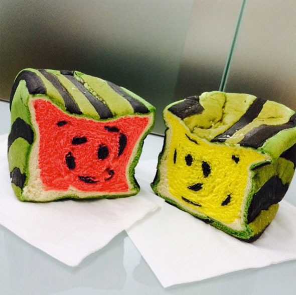 watermelon-bread