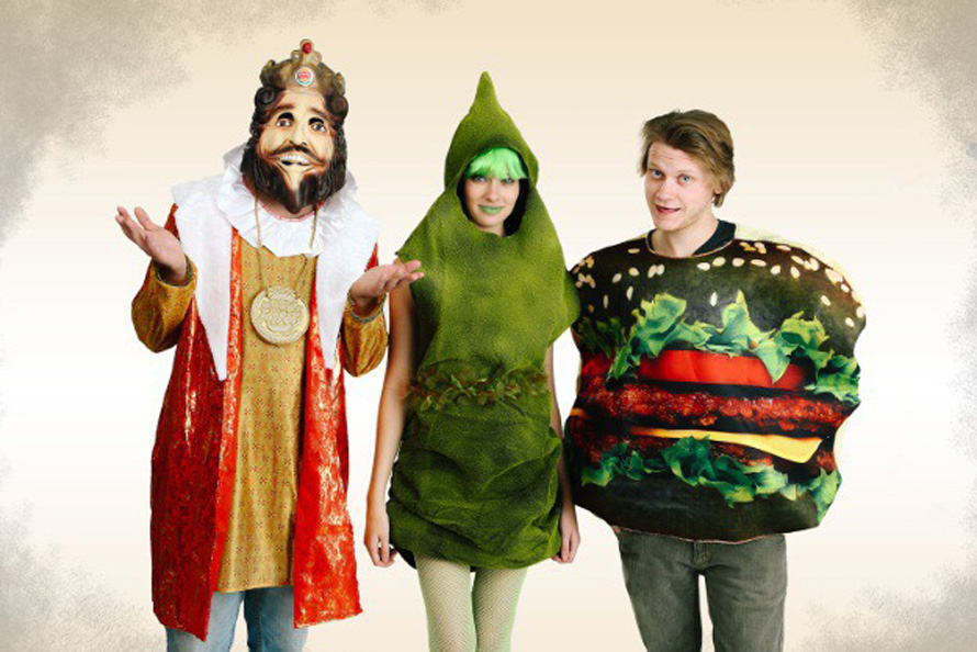 burger-king-green-poop-group-halloween-costume-idea