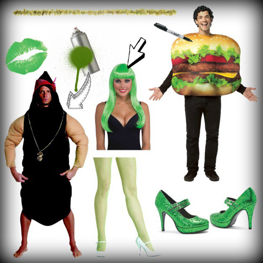 products-used-for-sexy-green-poop-burger-king-costume