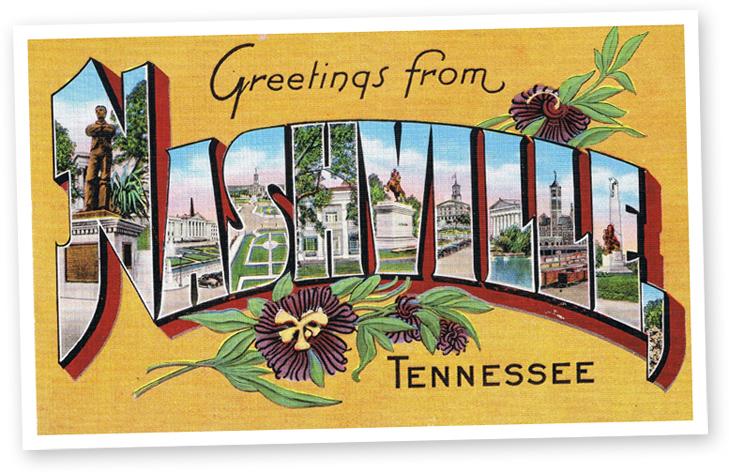 Nashville+Postcard