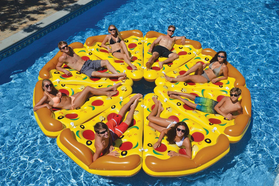 pizza-float