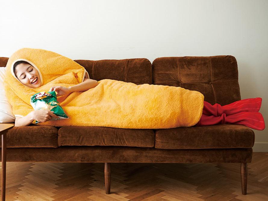 fried-shrimp-sleeping-bag