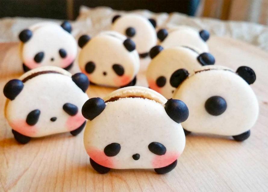 panda-macarons